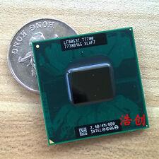 Intel Core 2 Duo T7700 slaf7 sla43 800 Mhz 2.4 / Ghz 4 Mb CPU de doble núcleo prozessoren