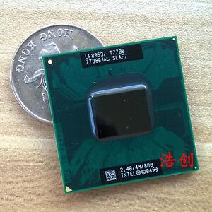 Intel Core 2 Duo T7700 SLAF7 SLA43 800MHZ 2.4/GHz 4MB Dual-Core CPU Prozessoren