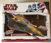 STAR WARS The Clone Wars Anakin Jedi Starfighter Delta 2009 Hasbro *BOX ONLY*