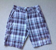 """Men's Billabong Designer Thin Zip Fly & Button Summer Shorts 30"""" Waist"""