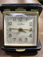 Vintage Seth Thomas -Classmate 14 - No.9 Black Travel Alarm Clock