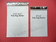 50 Poly Bag Postal Envelope Mailer Combo 7.5