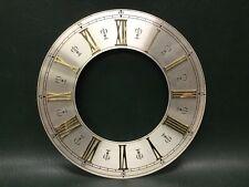 NOS Vintage Brass Clock Dial Roman Numerals Clock Parts Steampunk ~ W. Germany