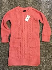 NWT Baby Gap Dress 5T Sweater Dress Cable Knit