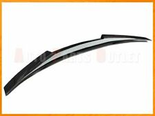 M4 Style Carbon Fiber Trunk Spoiler Lip For 14-19 BMW F36 4-Series Gran Coupe