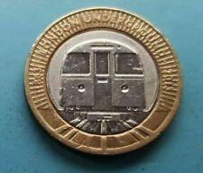 2013  London Underground Train £2 coin