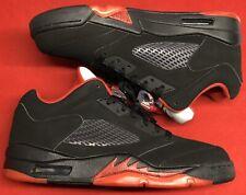 Jordan Retro V 5 Low Alternate 90 Black Fire Gym Red Hematite 11 XI Bred Sz 9.5