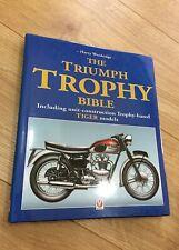 Harry Woolridge THE TRIUMPH TROPHY BIBLE hardback Veloce 1st ed