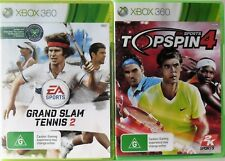 Grand Slam Tennis 2 and Top Spin 4 Microsoft Xbox 360