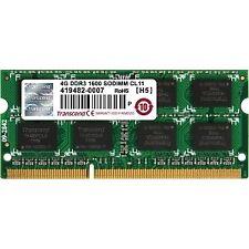 Memoria Transcend 4GB DDR3 1600mhz Sodimm