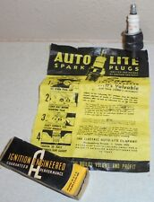 Vintage AUTO LITE B-9 B9 Spark Plug Great Condition NOS