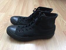 Converse All Star Men's Shoes Size 8 Black Canvas Hi Top Chuck Taylor M3310