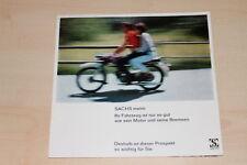 72738) Sachs 100/4 S 50 S 501/3 501/4 Saxonette Prospekt 196?
