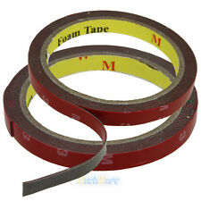 2x Auto Truck Car Acrylic Foam Double Sided Attachment Tape Adhesive 3m x 10mm
