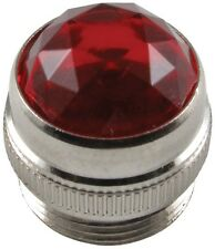 RED AMPLIFIER LAMP JEWEL FOR FENDER AMP POWER LIGHT COVER *NEW*
