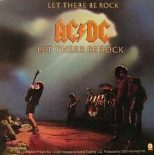 "AC/DC AUFKLEBER / STICKER # 52 ""LET THERE BE ROCK"" - PVC"