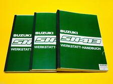 Reprint réparation Instructions réparation Livre Atelier Manuel pour SUZUKI lj80