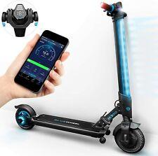 Escooter Elektroroller Elektroscooter Faltbar Multicolor LED 20 km bis 120kg