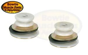 67-69 CAMARO FIREBIRD 68-72 CHEVELLE QUARTER WINDOW ROLLER ASSEMBLY PAIR