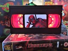 Deadpool Retro VHS Night Light, Desk Lamp, Led, Movie, Bedroom Lamp, TV, Kids