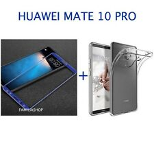 Film Integral Toughened Glass Blue for Huawei Matt 10 Pro+ Silicone Cover