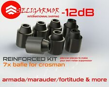 Baffle Benjamin Marauder Fortitude Armada Rifle SILENCER sound AIRGUN SUPPRESSOR