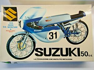 Protar 1:9 Scale Suzuki RK 66 50cc Champion 1967 & 68 Model Kit - New - # 132