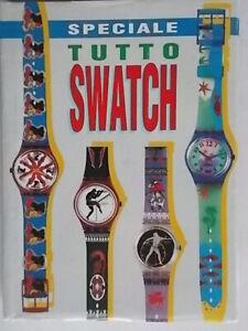Speciale tutto Swatch l'agenda del collezionista 92diario 1992 foto orologi 802