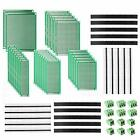 DEYUE 60 Pcs PCB Perforated Printed Circuits Boards Kit | 28  Assorted Sizes