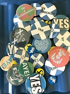 Scottish Independence Badges & Keyrings & Trolley Tokens ~ Only £3.95