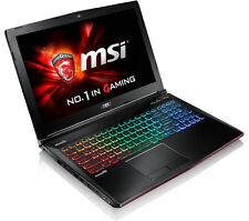 "MSI APACHE ge62 6qf-261uk 15.6"" Pro Gaming Laptop i7 16gb 1tb+128gb gtx970m 3gb"