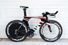 Cervelo P5 54cm eTap Zipp 808 PowerTap G3 Magura Time Trial Triathlon Bike