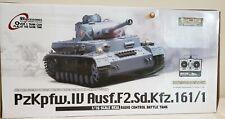 1/16 Radio Control Tank Pzkpfw.Iv German Army Wwii Panzer Iv