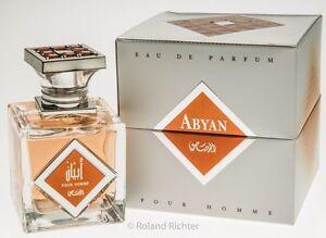 Abyan for men by Rasasi 95ml Arabian oriental Exotic Spray by Rasasi