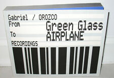 SIGNED Gabriel Orozco From Green Glass To Airplane Film Stills PB