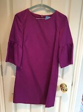 French Connection Purple Bell Sleeve Dress, Size 8, WORN ONCE