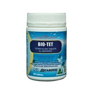 Aquasonic Bio-Tet (25t) - Broad Spectrum Antibiotic Marine/Freshwater Aquariums
