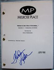 HEATHER LOCKLEAR SIGNED FULL MELROSE PLACE SCRIPT DC/COA (RARE)