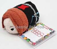 NEW Authentic US Disney Marvel BLACK WIDOW Mini Tsum Tsum Plush Toy - Avengers