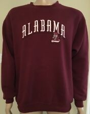 VTG Alabama Crimson Tide 50/50 Crewneck Sweatshirt Crable Sportswear USA Made L