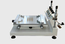High Precision Manual PCB Screen Press Precise Stencil Solder Printing Machine