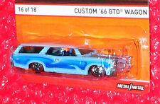 Hot Wheels Redline #16  Custom '66 GTO Wagon  CFN87-D710