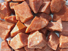 1/2 LB RED AVENTURINE  Rough Rock for Tumbling Tumbler Stones from INDIA