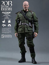 SIDESHOW HOT TOYS G.I. JOE, JOE COLTON BRUCE WILLIS 1:6 ACTION FIGUR NEU & OVP