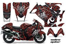 Amr Racing Graphic Kit Suzuki GSXR 1300 Hayabusa GSX Busa Bike Decal Wrap WIDOW