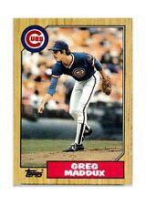 1987 Topps Traded Greg Maddux Chicago Cubs #70T Baseball Card