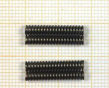 4 x Druckfeder, Länge 17,5mm, Außen Ø3mm, Drahtstärke 0,5mm