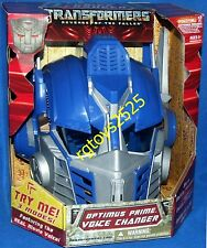Transformers Optimus Prime Helmet Voice Changer New REVENGE OF THE FALLEN 2008