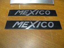 FORD ESCORT MK1, MEXICO WING BADGE KIT, AVO,MEXICO