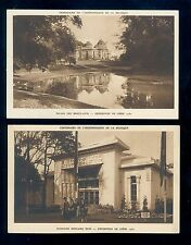 2 Different Postcards from the 1930 International Exposition at Liege B3242
